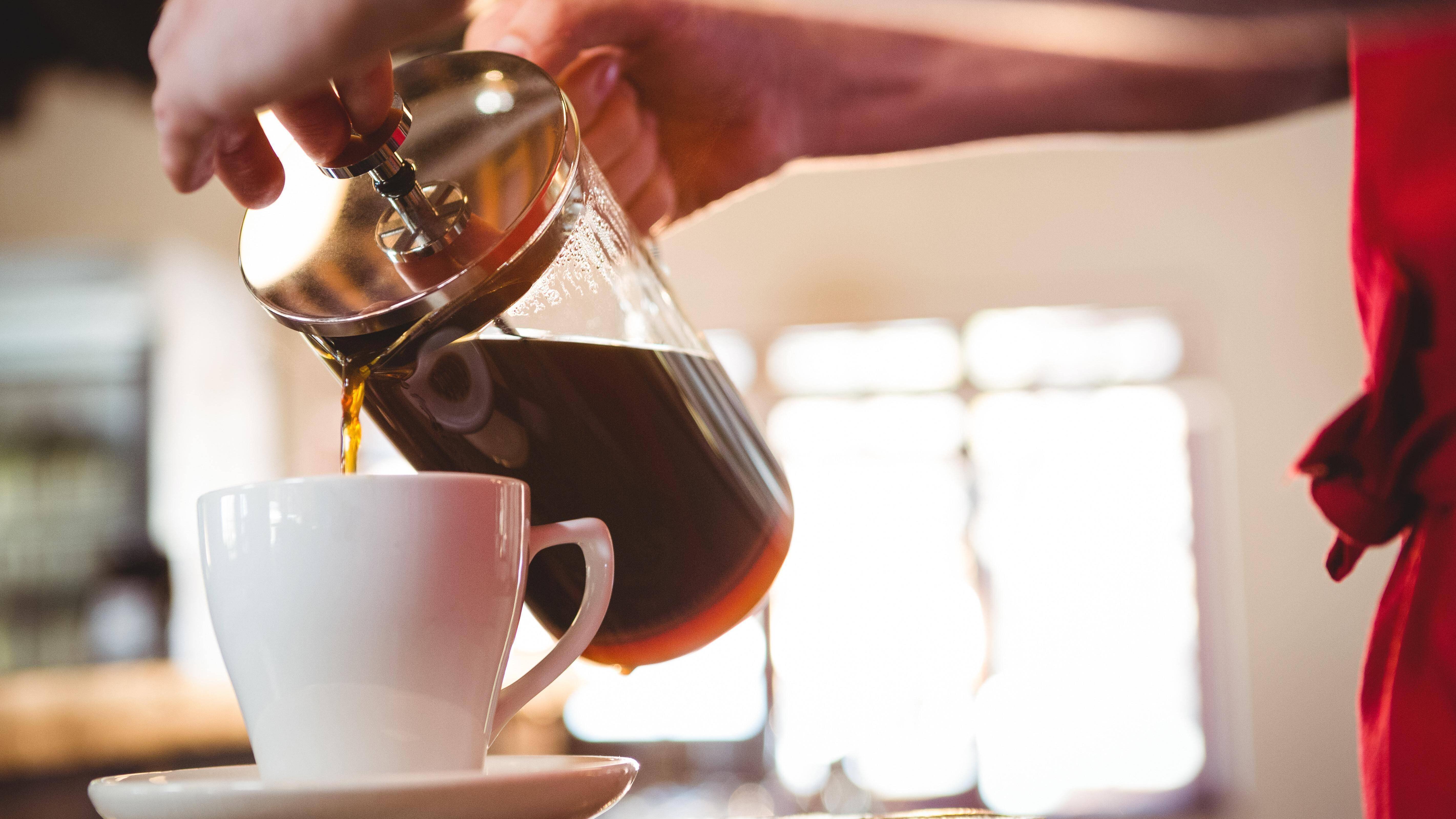 Kaffee ohne Maschine kochen.