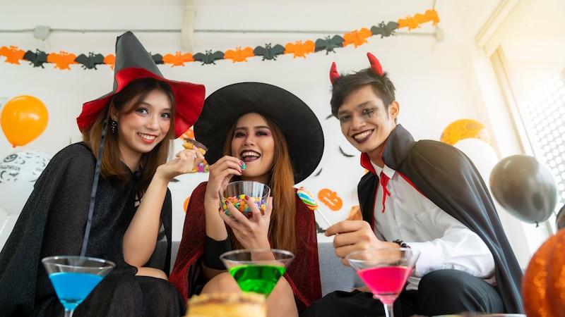 Halloween – perfekt ausgestattet für wenig Geld