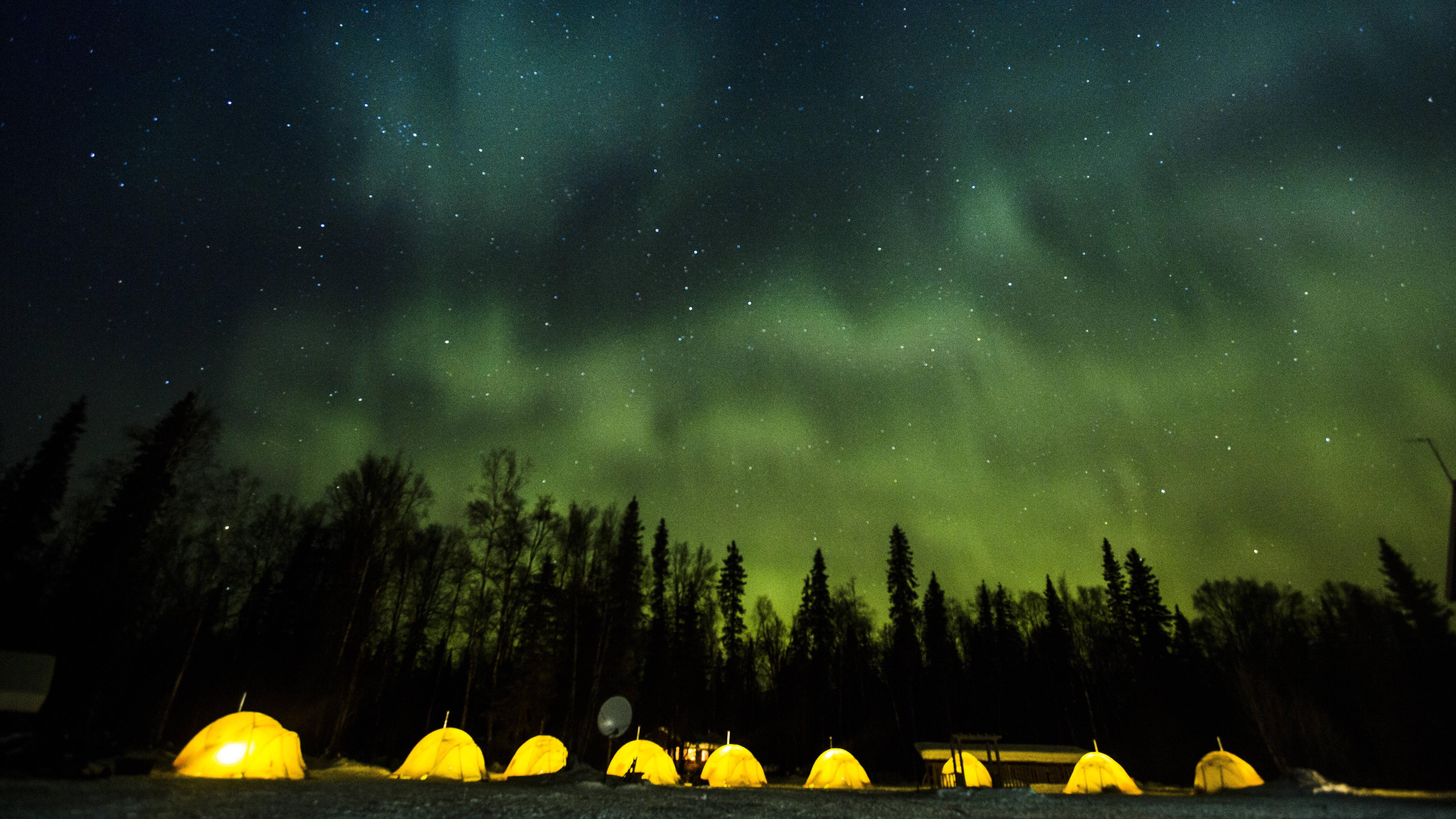 Als Anfänger sollten Sie beim Wintercamping einige Tipps beachten.