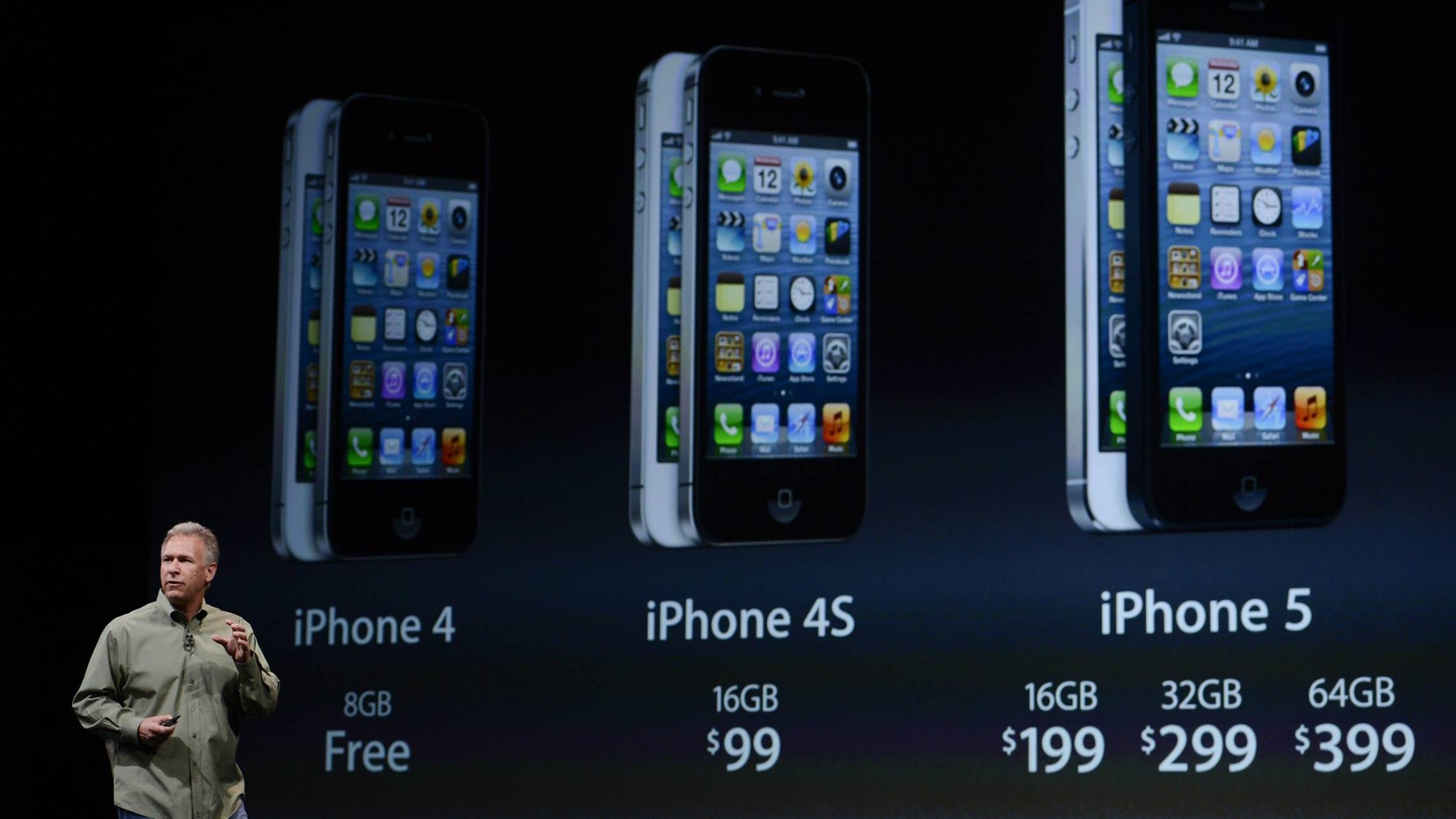 iPhone Reihenfolge: Die Modelle geordnet