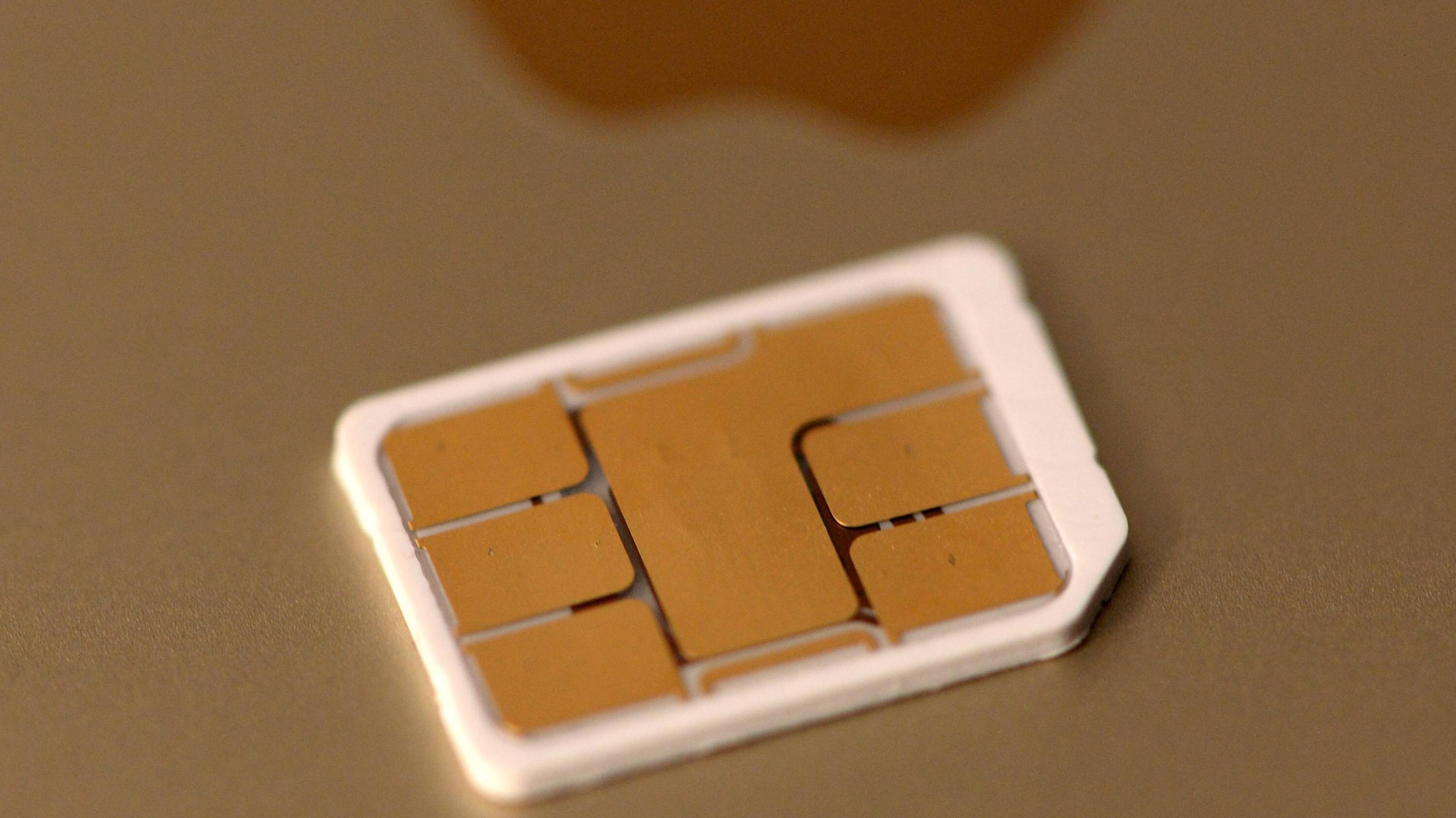 Beim iPhone X kommt eine Nano Sim-Karte zum Einsatz