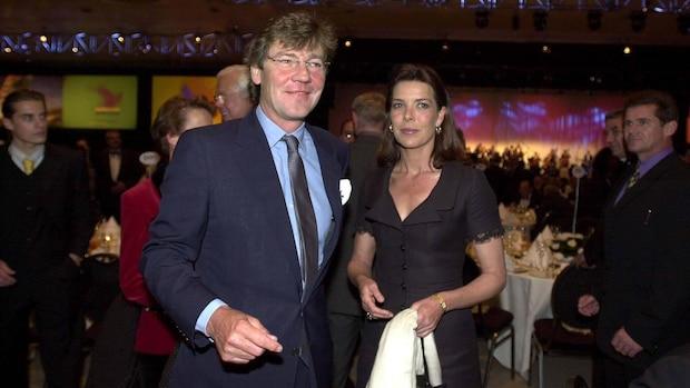 Ernst August 2009 mit Prinzessin Caroline von Monaco bei der Eröffnungsgala der Expo