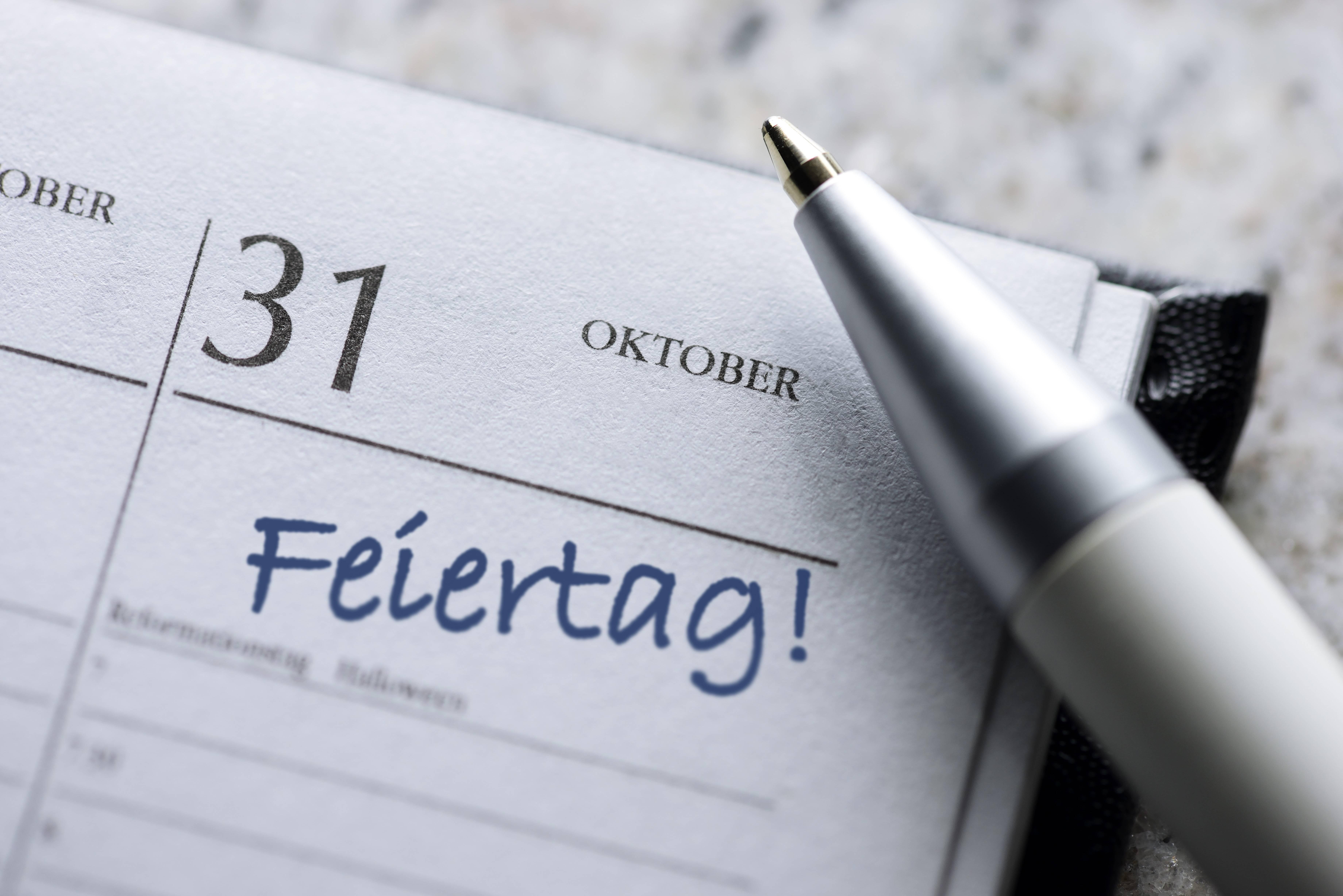 Feiertage 2021 in Mecklenburg-Vorpommern - So nutzen Sie Brückentage optimal