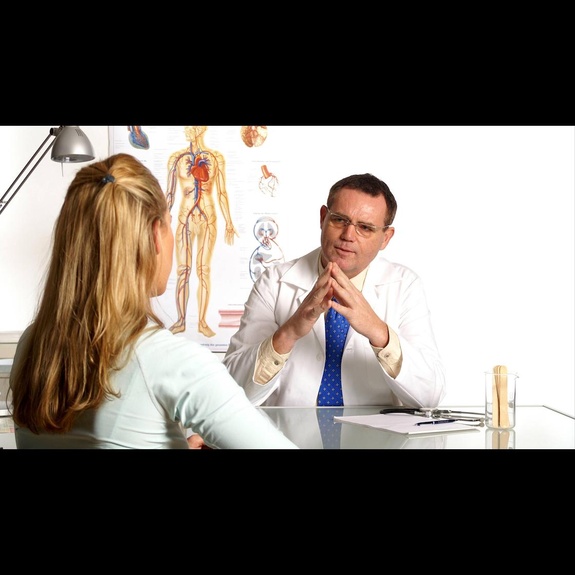 Schambeinentzündung Symptome