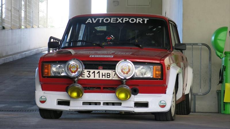 Alte russische Lada-Autos sind beliebt unter Sammlern.
