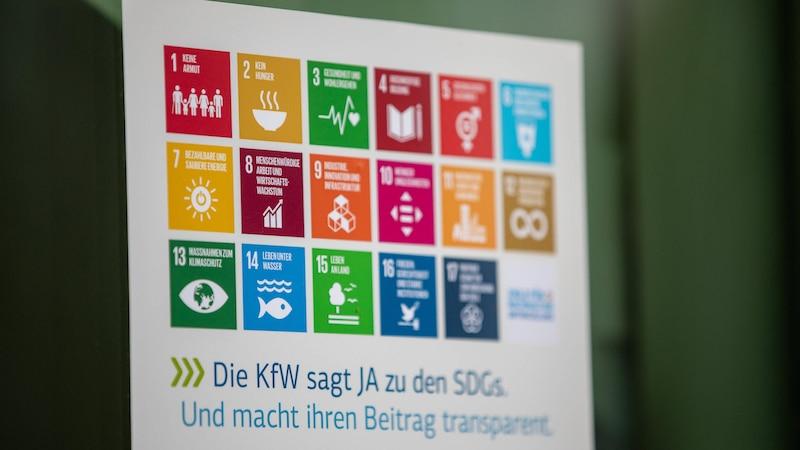 Nachhaltigkeit der DKB Bank auf der Grundlage der 17 SDGs