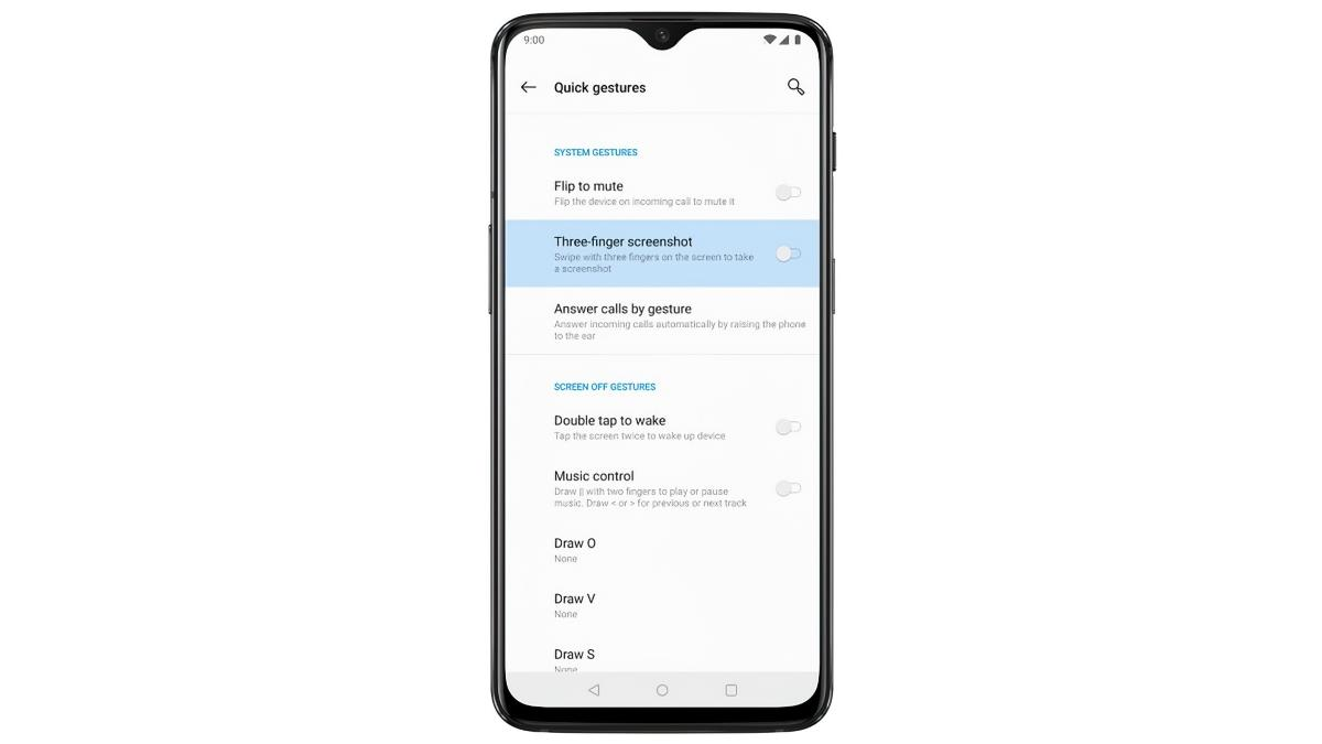OnePlus 5/6/7/8: Screenshot erstellen - so geht's
