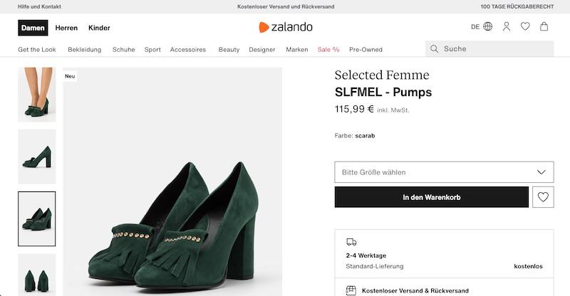 Schuhe bei zalando kaufen