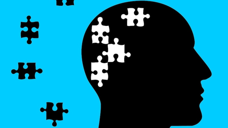 Bei einer dissoziativen Störung gehen Erinnerungen teilweise verloren.