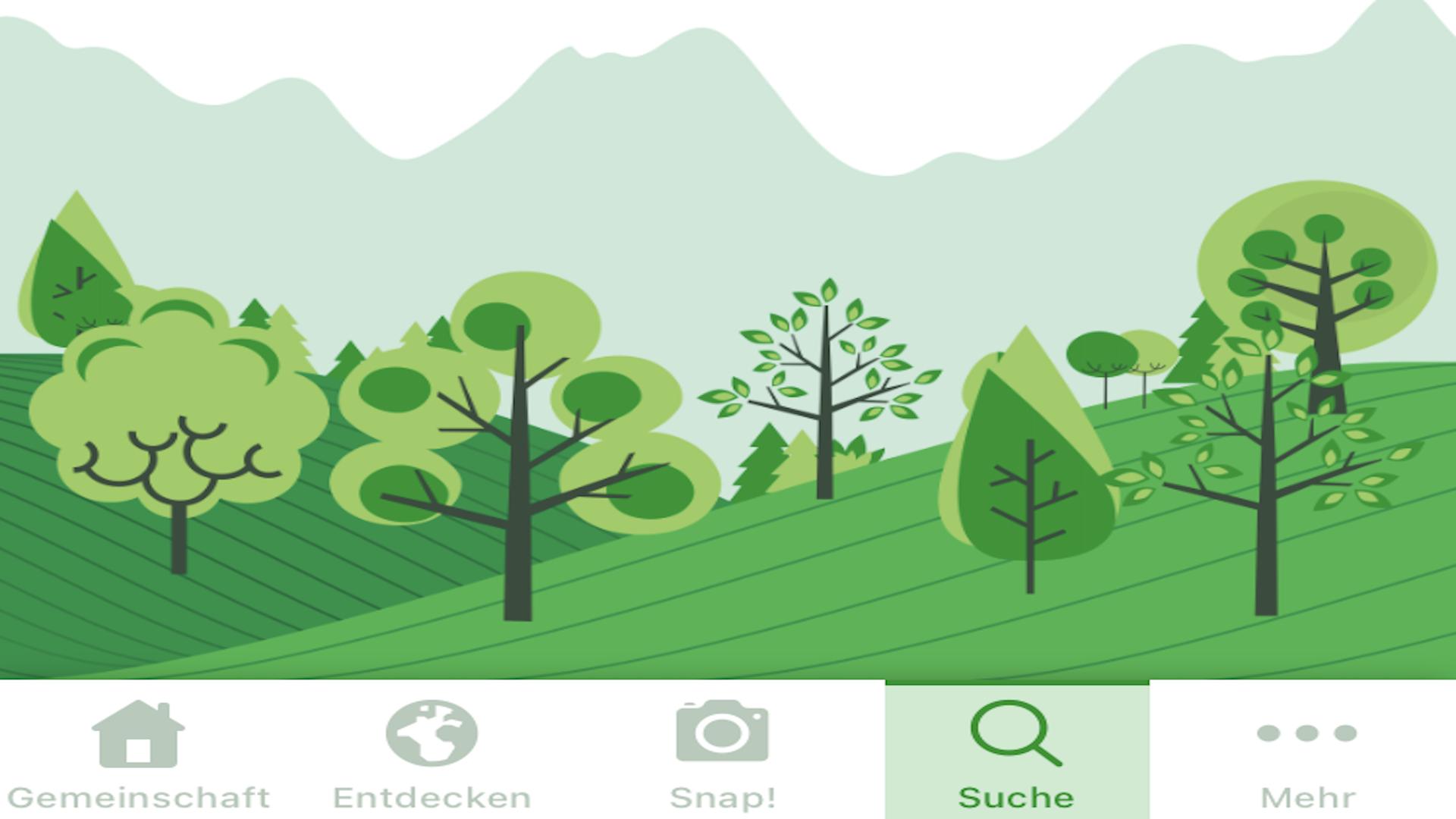 Mit PlantSnap Bäume bestimmen.