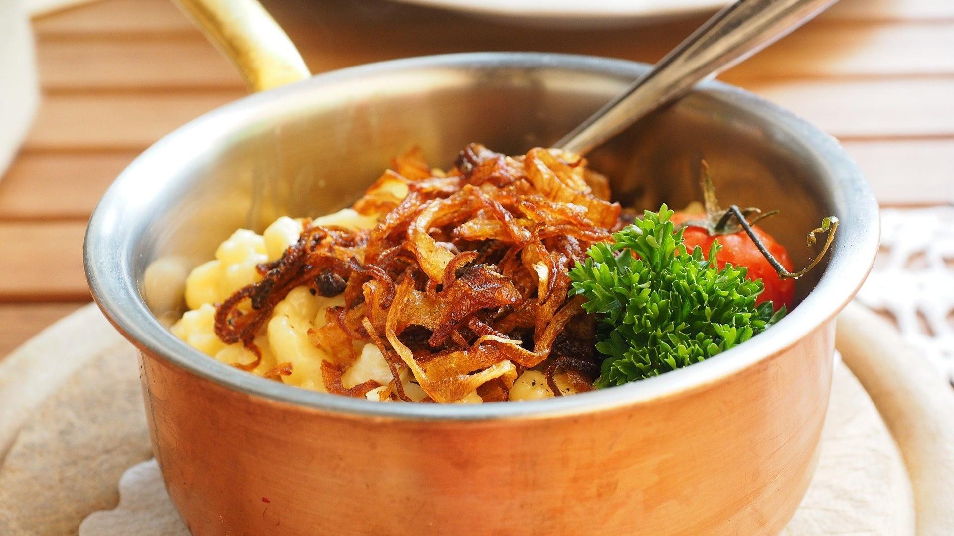 Schwäbische Spezialitäten - diese Gerichte gibt es
