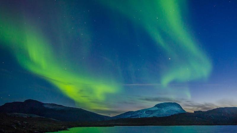 Von August bis Mai sehen Sie die Polarlichter in Nordamerika.