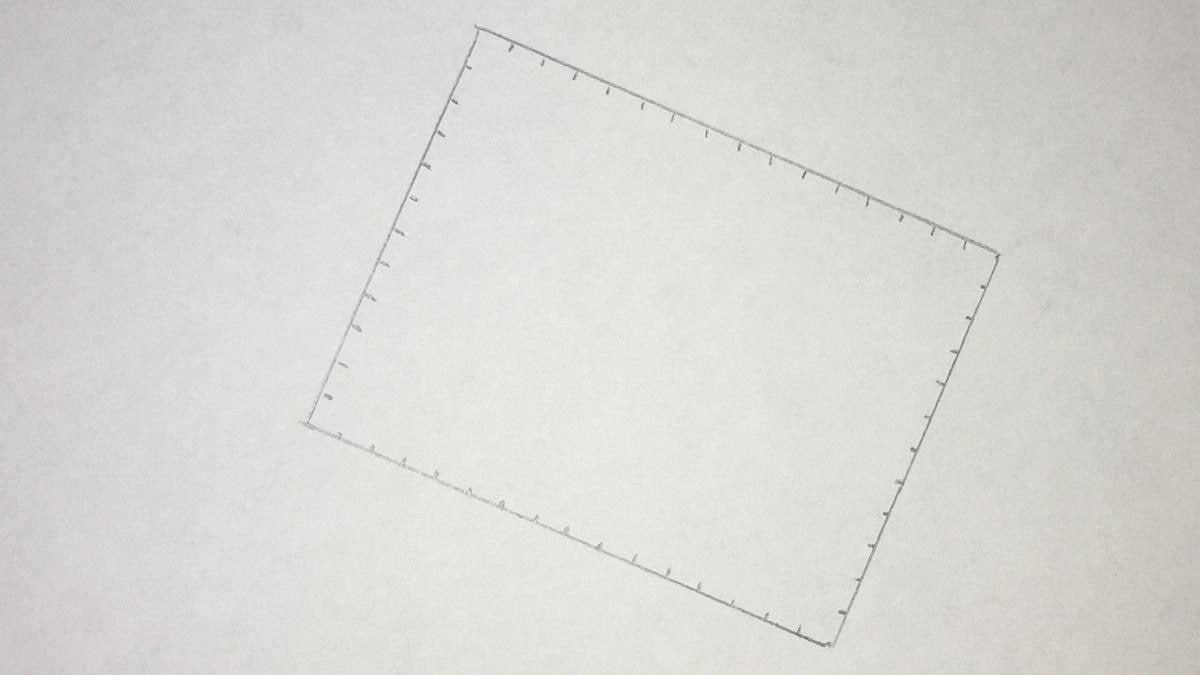 Keks zeichnen - Schritt 1