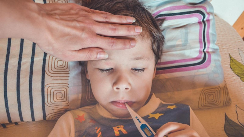Wenn Ihr Kind im Urlaub krank wird, haben Sie kein Recht darauf, den Urlaub nachzuholen.