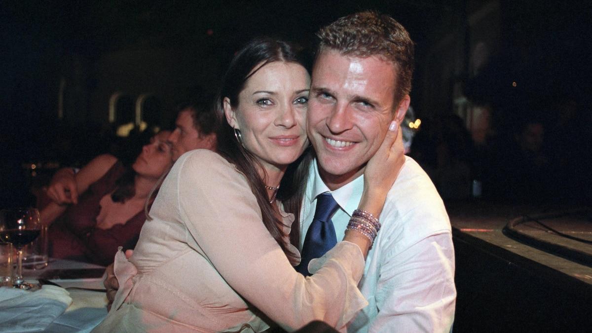 Vor der Hochzeit: Oliver Bierhoff und seine Klara im Jahr 2000