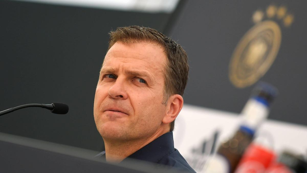 Seit 2004 ist Oliver Bierhoff Manager der deutschen Fußball-Nationalmannschaft.