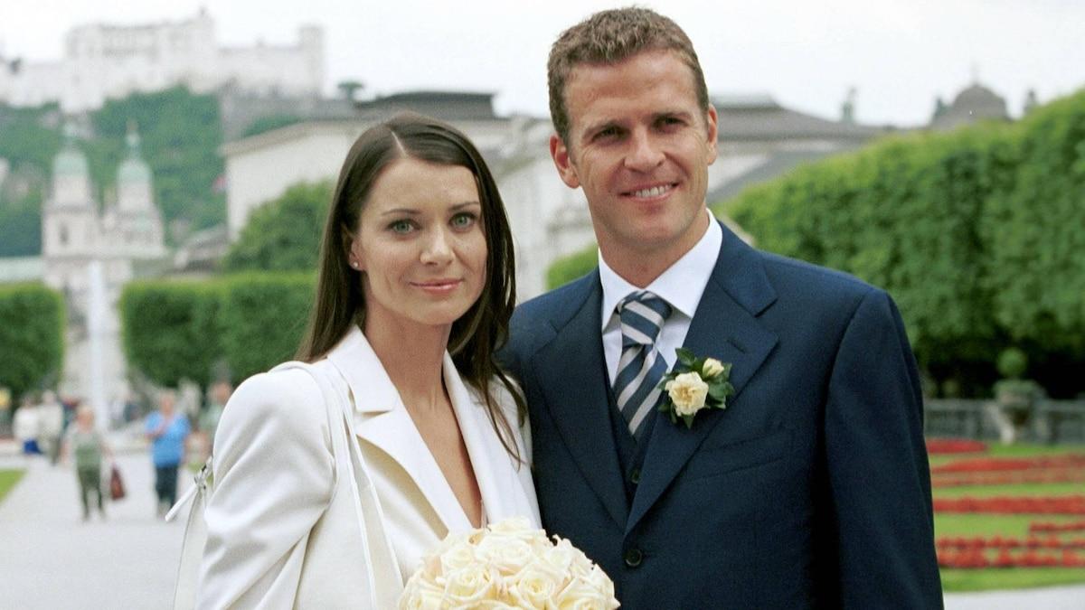 Oliver Bierhoff heiratete am 22. Juni 2001 Klara Szalantzy