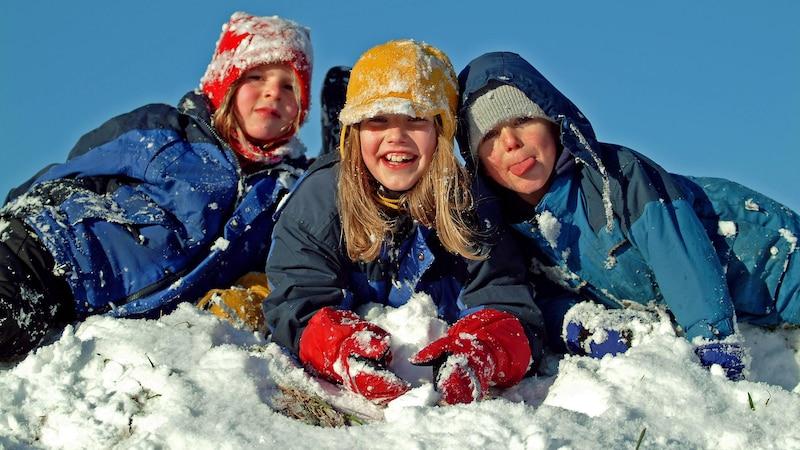 Frische Luft und Bewegung stärken die Abwehrkräfte der Kinder.