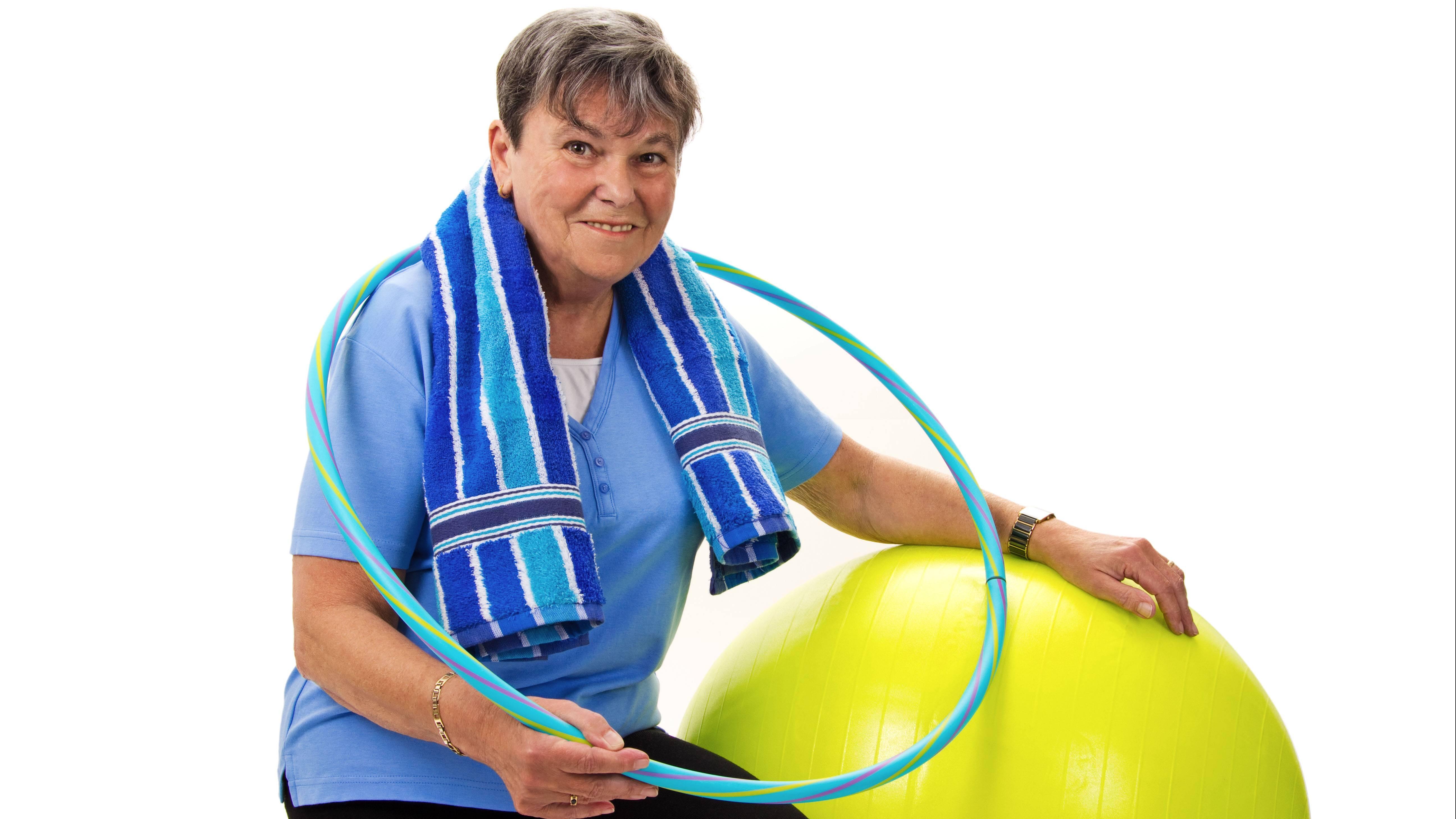 Wenn Sie beim Hula Hoop genügend Kalorien verbrennen, können Sie auf eine Diät verzichten.