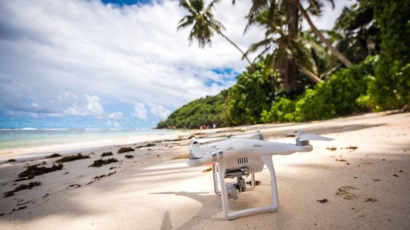 Die Privathaftpflichtversicherung mit Drohnenschutz sorgt dafür, dass Sie auch im Urlaub tolle Bilder aufnehmen können.
