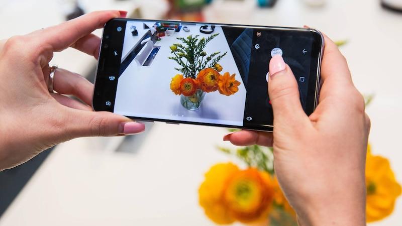 Samsung Galaxy S8 GIF erstellen