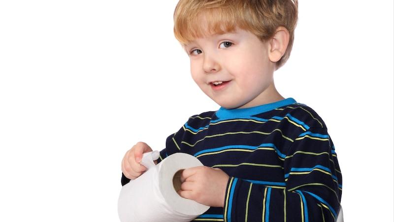 Po richtig abwischen - wie Eltern es Kindern lernen