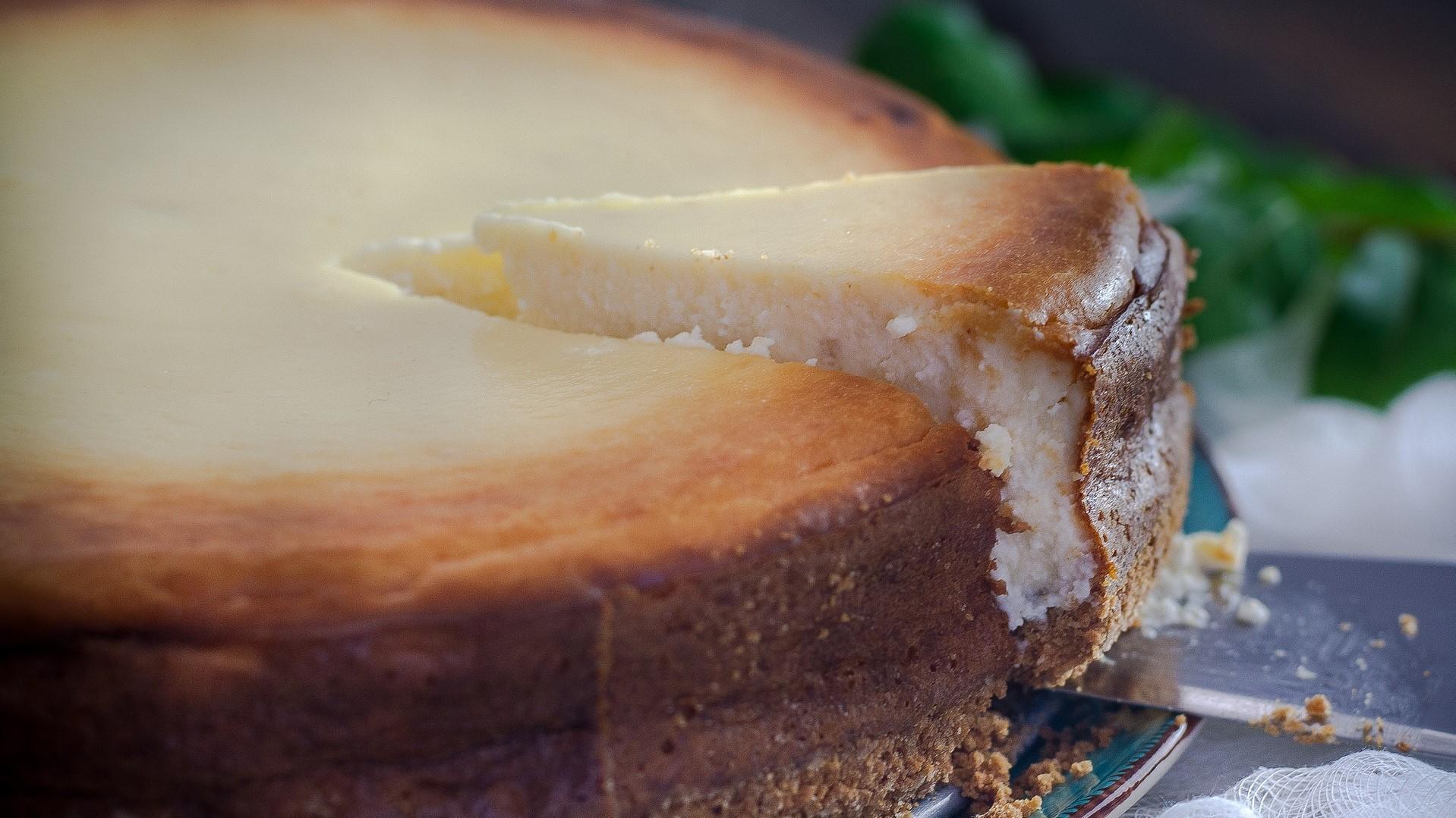 Ist vom Käsekuchen etwas übrig geblieben, können Sie ihn einfrieren und bis zu einem Monat später genießen.