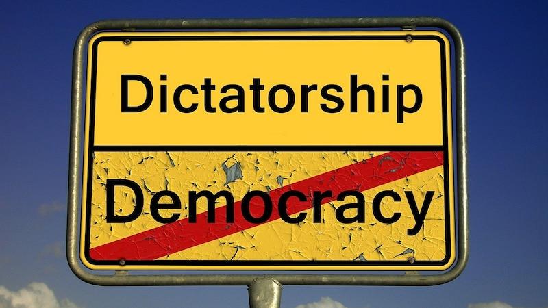 Diktatur: Merkmale der Staatsform