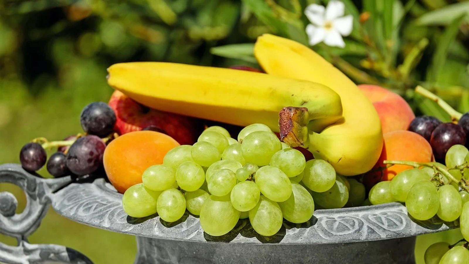 Frische Lebensmittel halten auch den Körper und den Geist frisch.