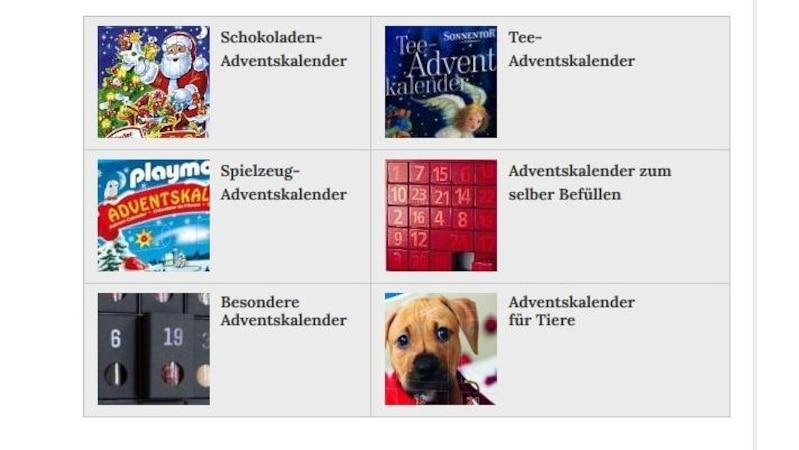 Auf Webseiten wie Adventskalender.net können Sie bequem Adventskalender online kaufen.