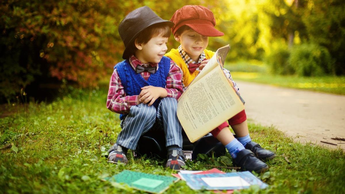 Zeitschriften sind besonders im jungen Alter wichtig für Kinder.
