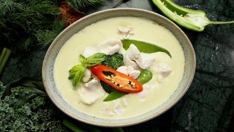 Grünes Curry: Rezept mit und ohne Fleisch