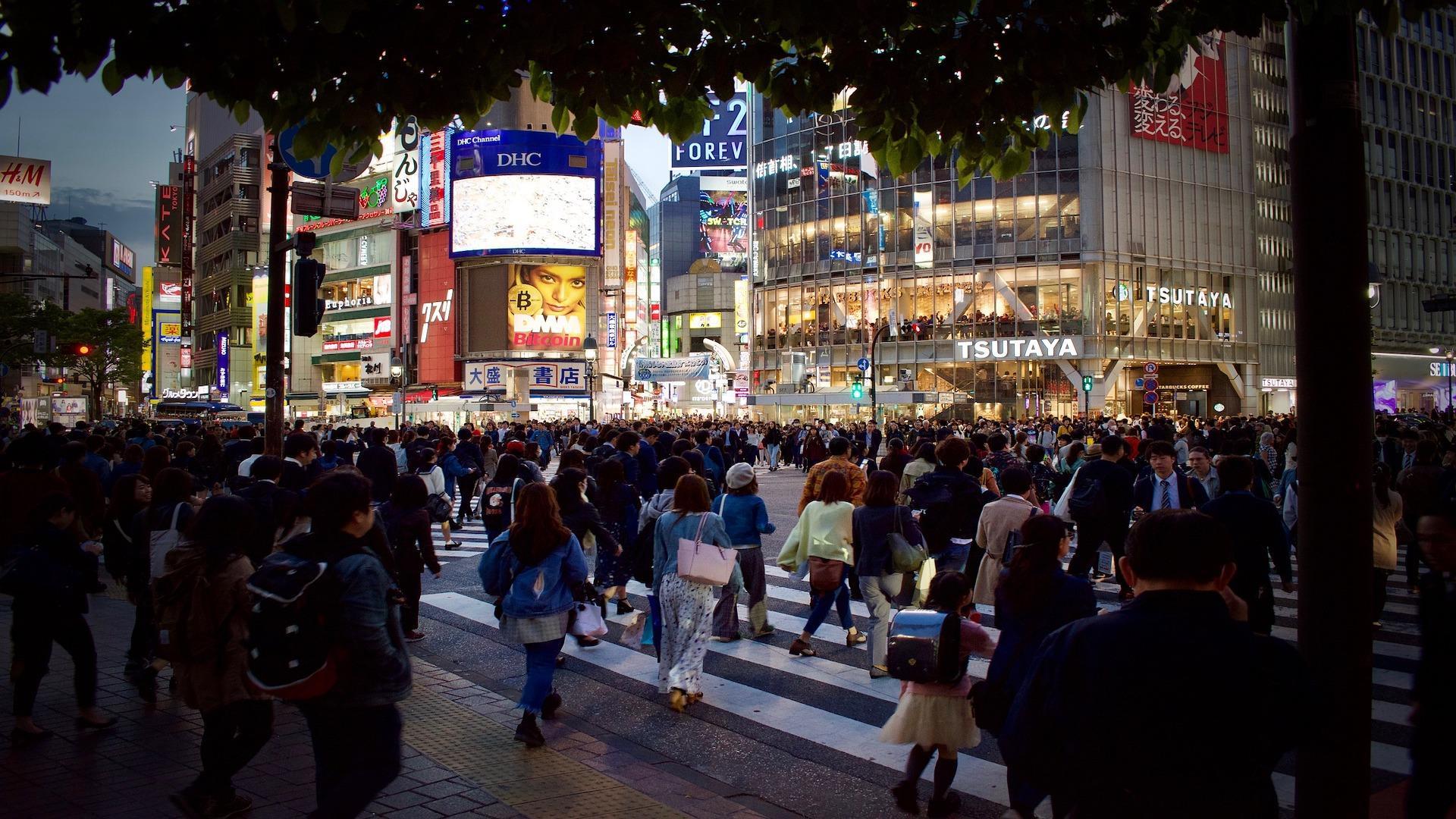 Laut Definition eine der Megacities: Tokio in Japan.