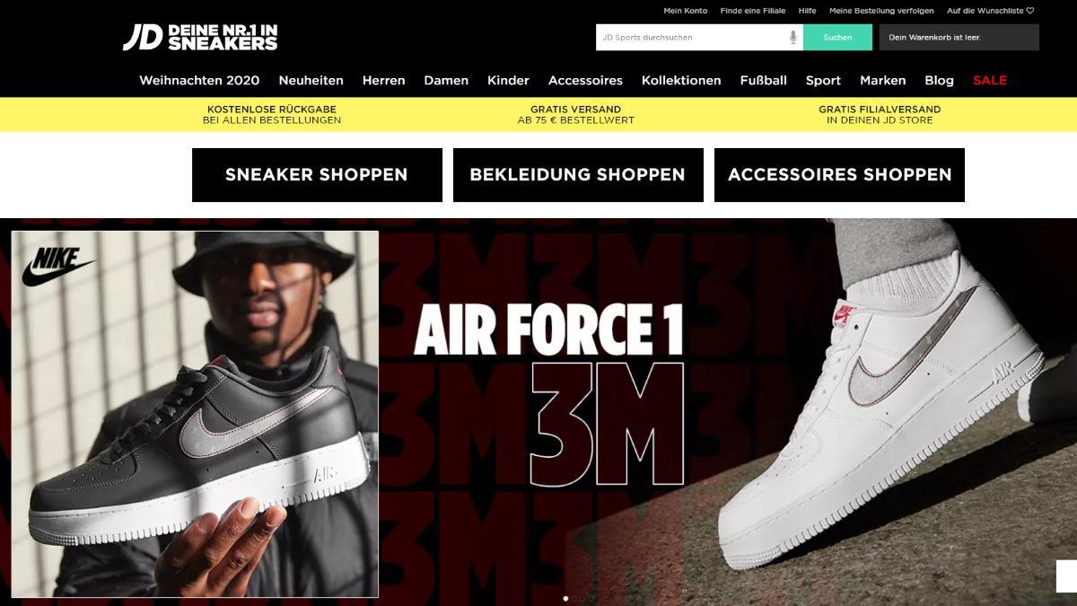 Den Kundenservice des Modeunternehmens JD Sports erreichen Sie auf vielen Wegen.