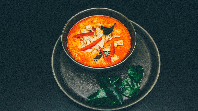 Rezept für rotes Thai Curry - So geht's