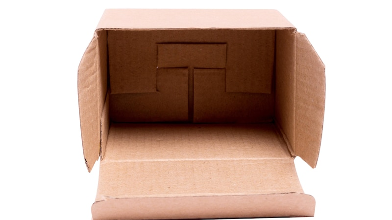 Stabile Schachtel basteln - so geht's