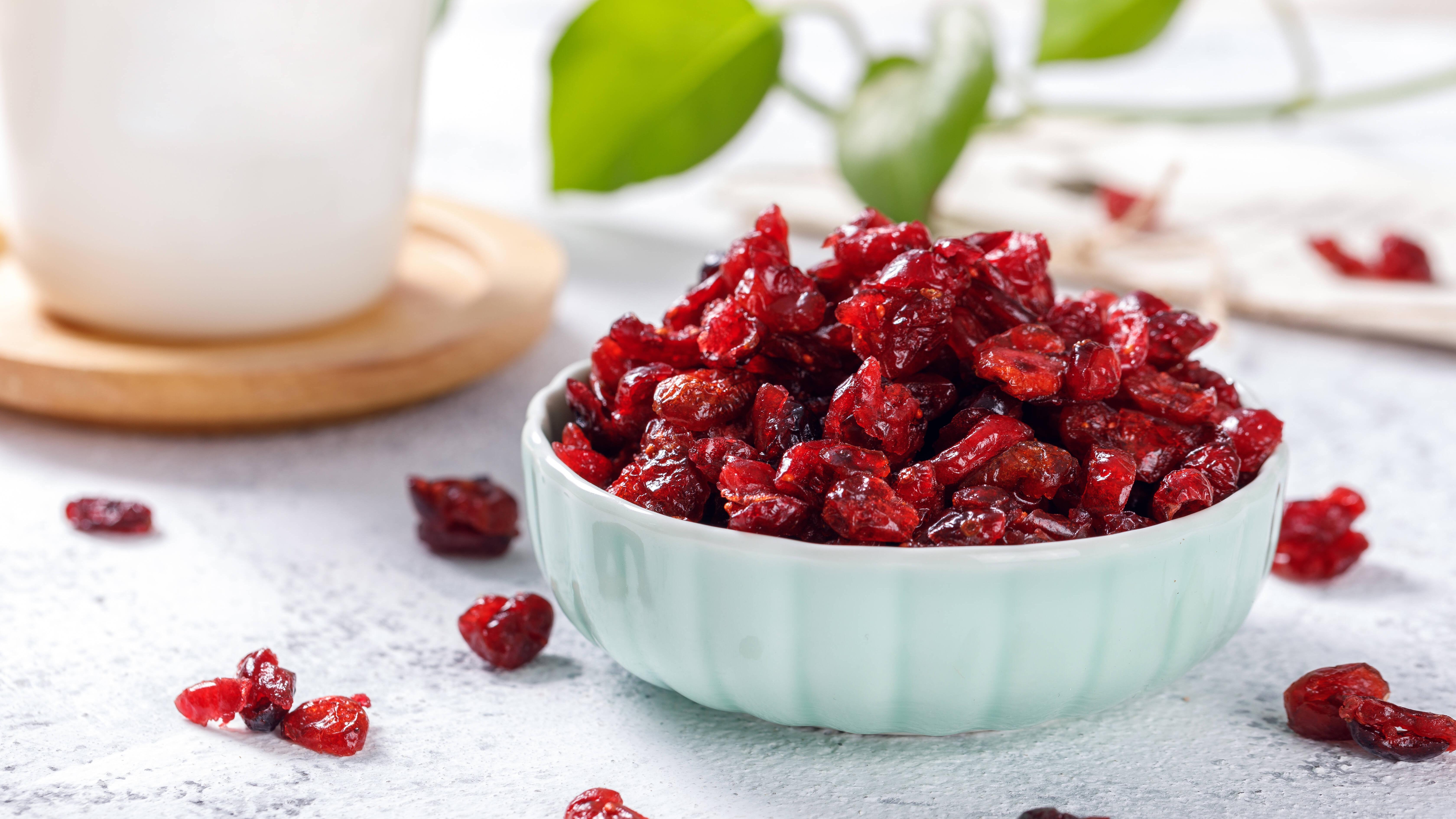 Cranberrys selber im Backofen trocknen