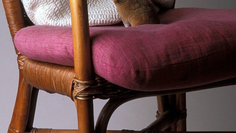 Ein Sitzkissen können Sie ganz einfach selber nähen.