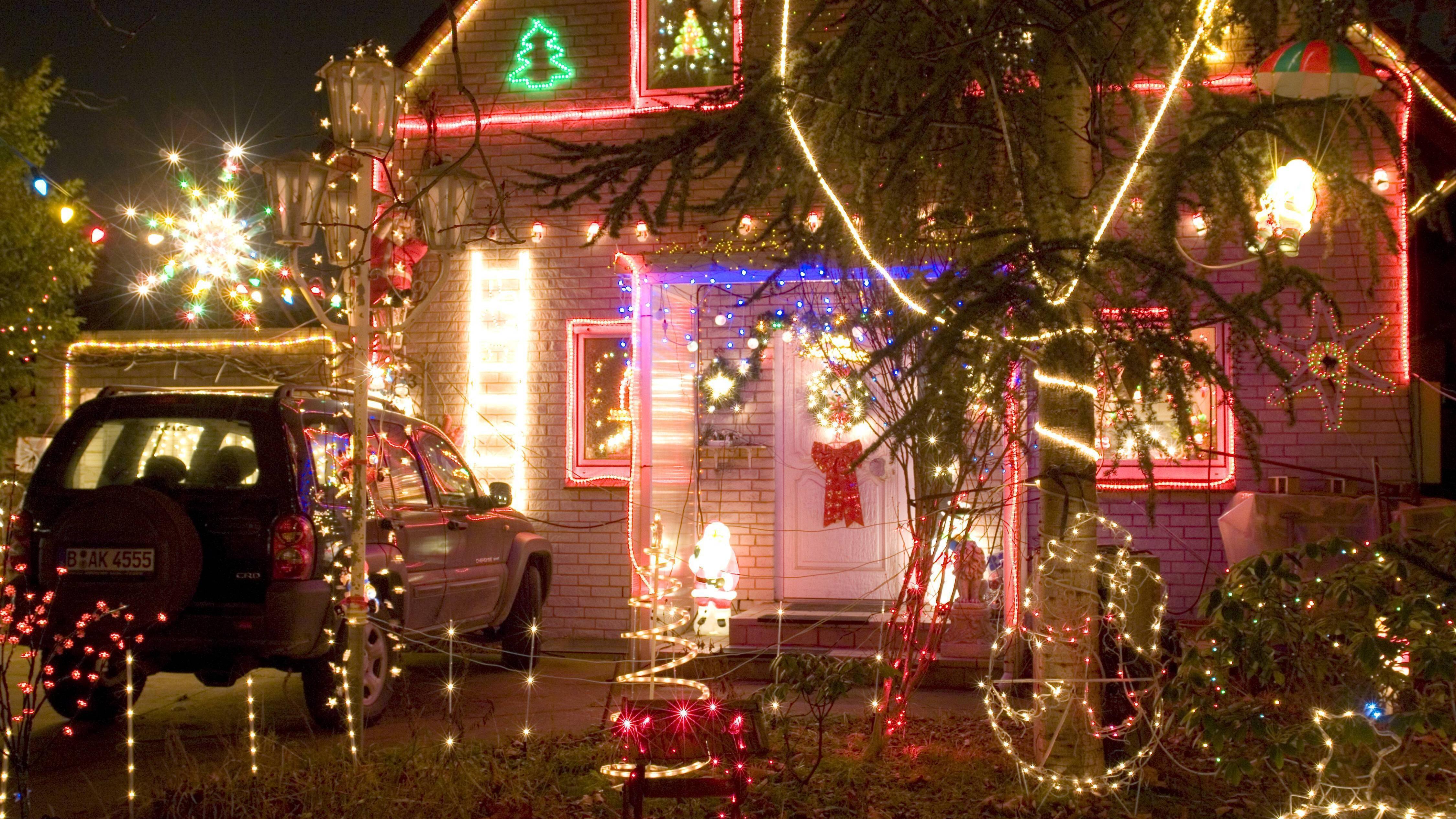 Geschmackssache: Weihnachtlich dekoriertes Einfamilienhaus in Berlin
