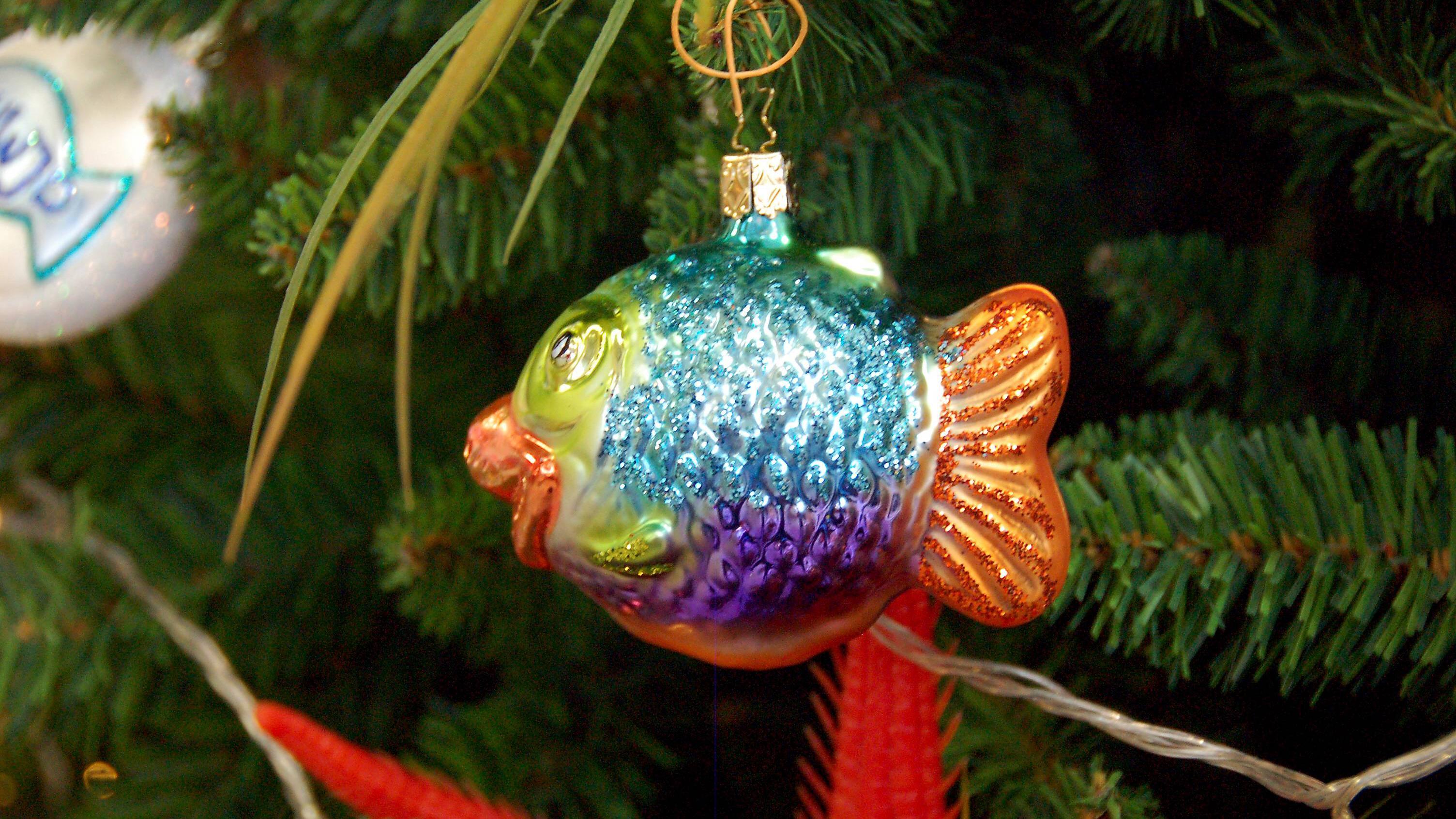 Es muss nicht immer traditionell sein: Wie wär's dieses Jahr mit einem (Weihnachts-)Kugelfisch?