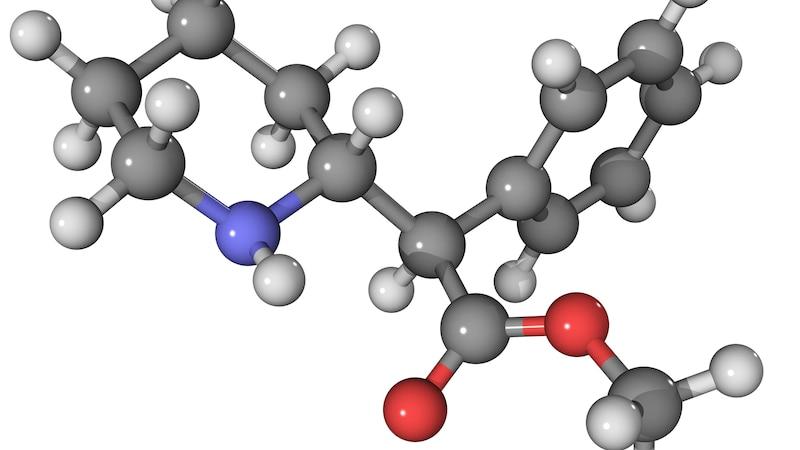 Die Wirkung des Medikaments Ritalin findet vor allem im Gehirn statt