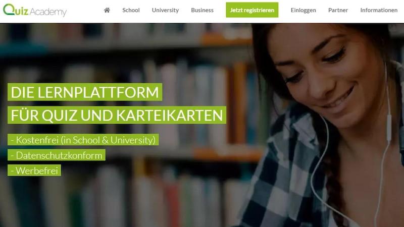 Das deutsche Tool QuizAcademy ist als Kahoot-Alternative besonders für Schüler und Studenten interessant.