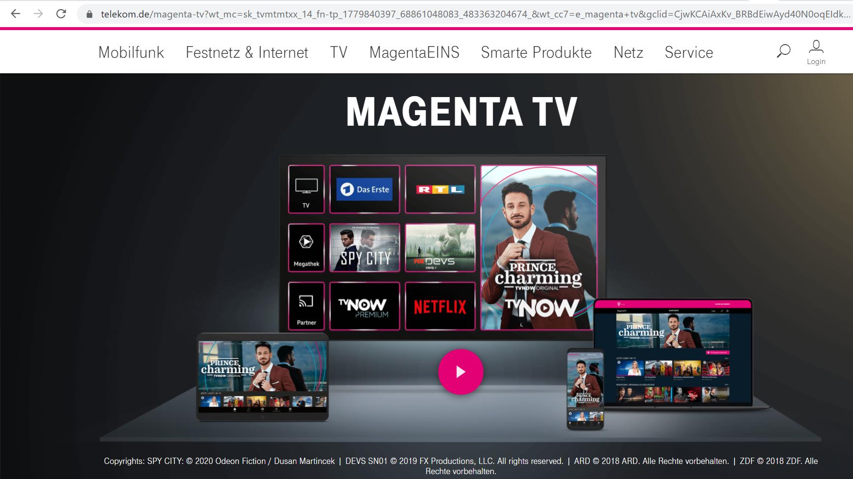 Magenta TV mit Sprachbefehlen nutzen