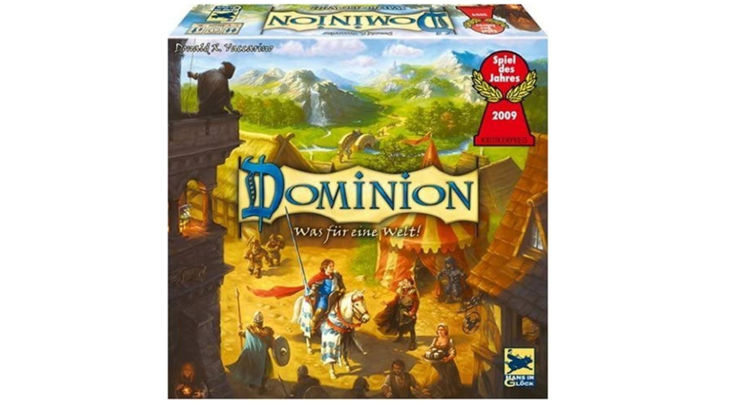 Die Spielanleitung von Dominion ist leicht erklärt.