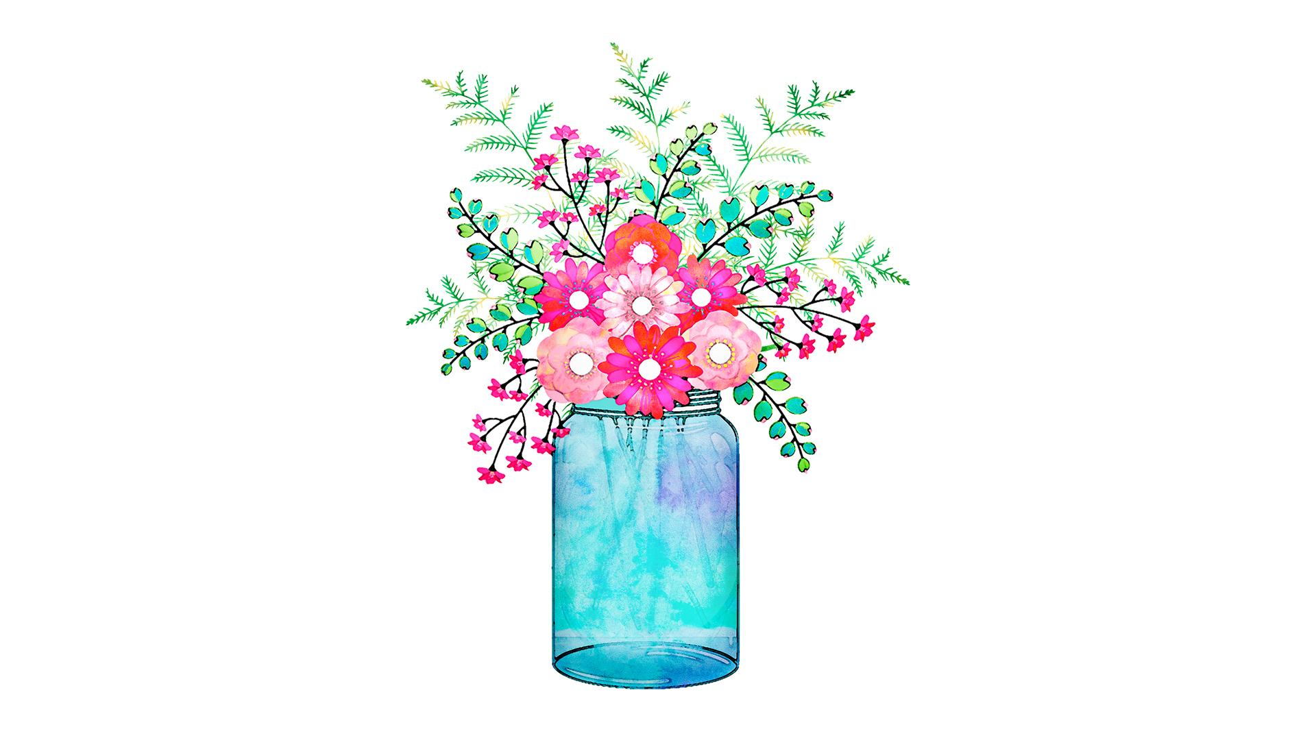 Individuelle Vase basteln: 3 tolle Ideen