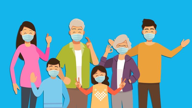 Probleme mit den Eltern können auch als Erwachsener auftreten und können gelöst werden.
