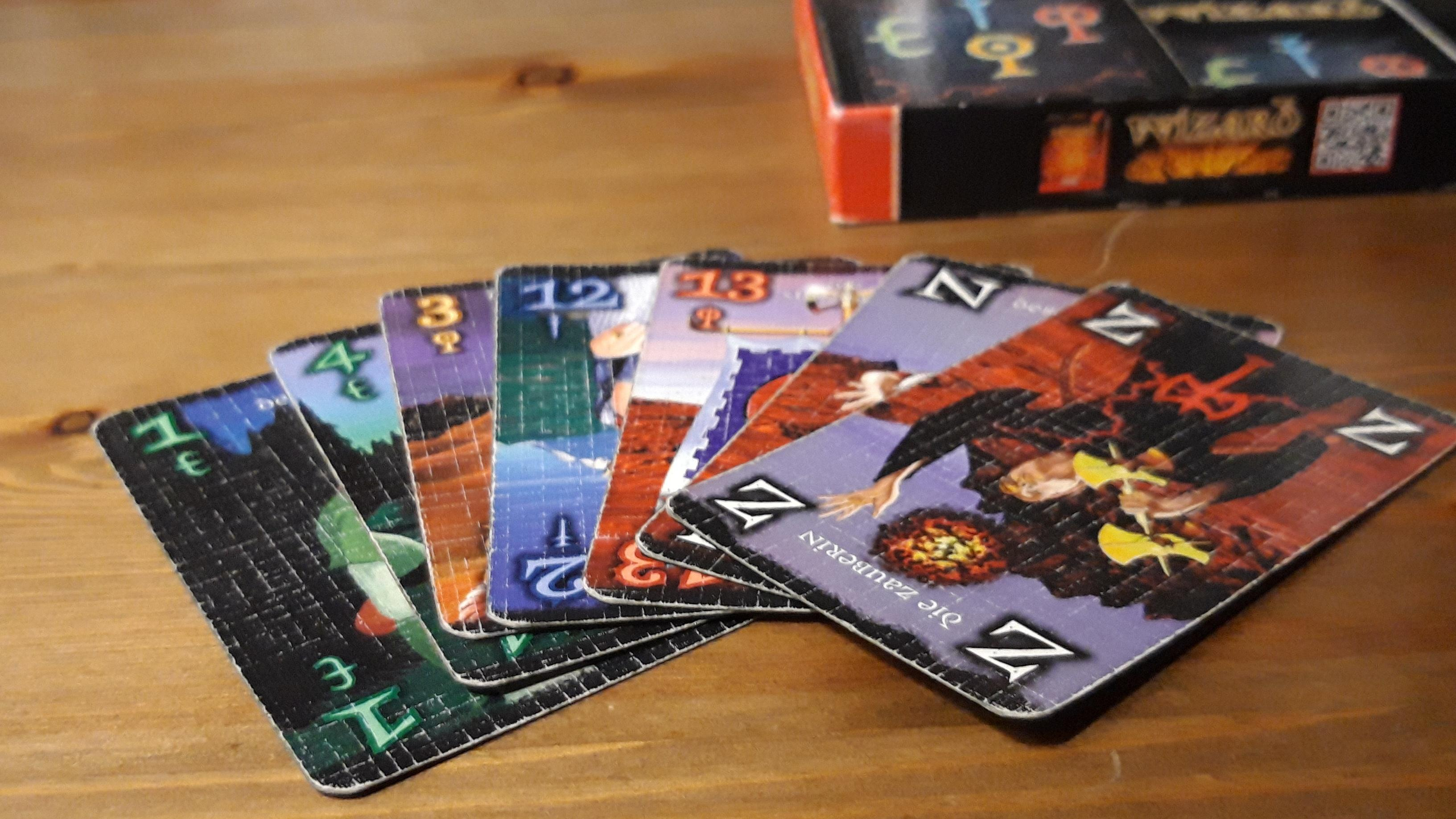 Wizard: Spielregeln und Extras