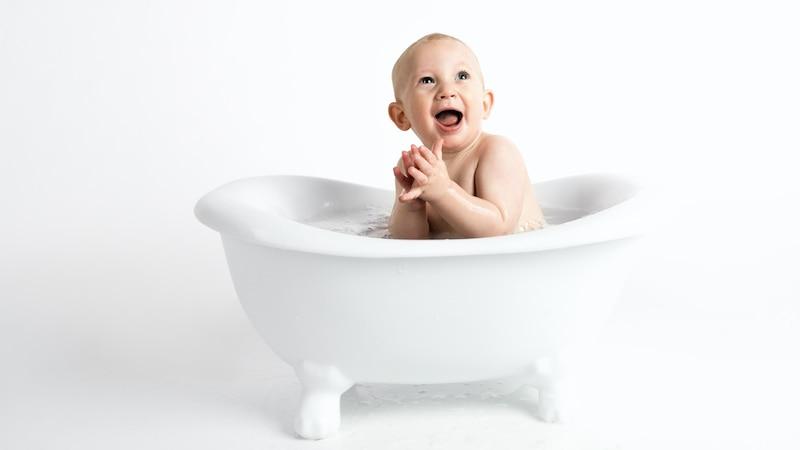 Erkältungsbad beim Baby: Darauf sollten Sie achten.