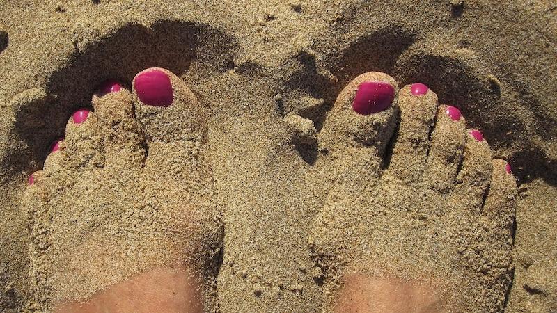 Der Stich eines Sandflohs juckt sehr viel stärker als ein gewöhnlicher Insektenstich