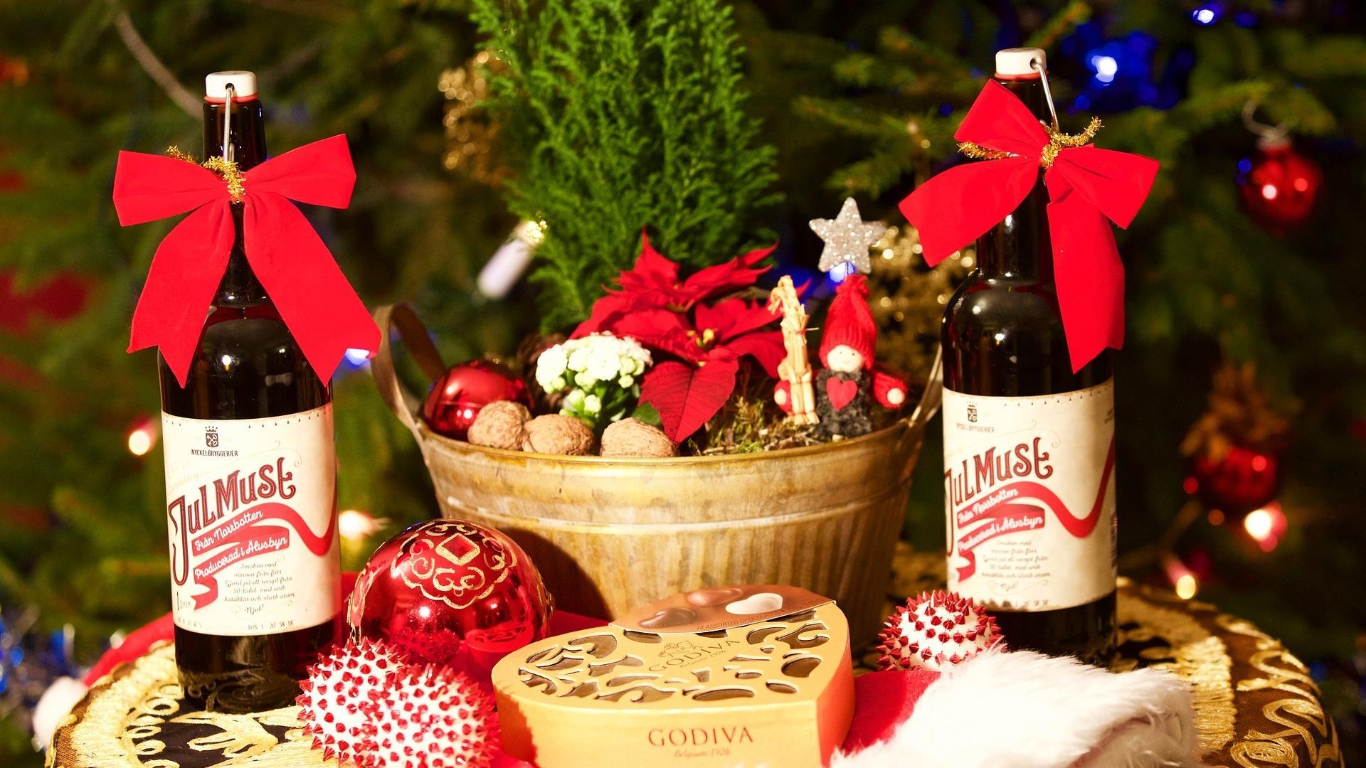 Zu Weihnachten gehört in Schweden Julmust genauso sehr wie der Tomte und Kalla Anka